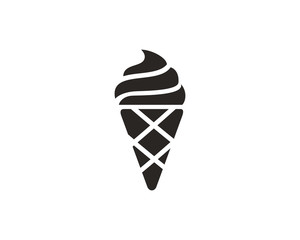 Ice cream icon symbol vector