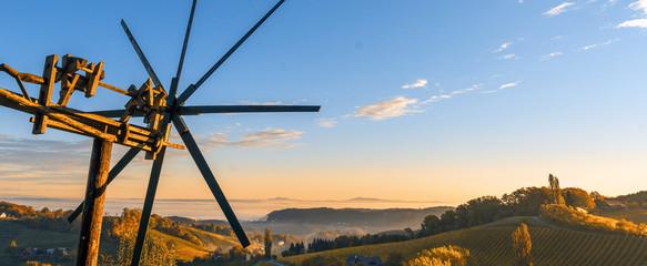 Herbst in der Südsteiermark, Österreich