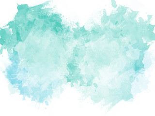Abstract beautiful Colorful shape watercolor illustration painting background and texture backdrop.