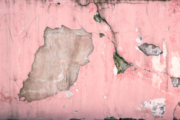 Abstract cement wall texture and background, High quality picture. The cracked plaster. The concept grunge background.