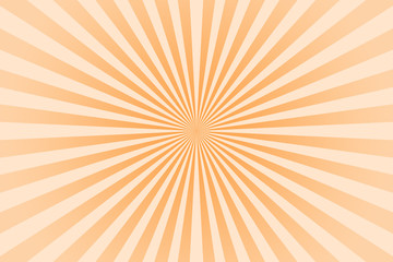 Orange pastel color rays abstract background, can use for test the resolution and focus of cameras and photo or cinema lens.