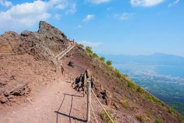 Foto auf AluDibond Neapel Mount Vesuvius, Italy