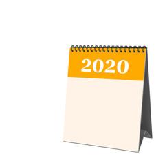Tischkalender, 2020, Deckblatt