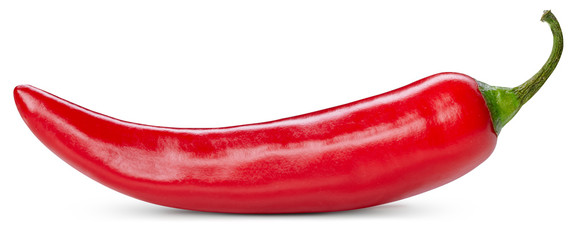 Canvas Prints Hot chili peppers chili pepper isolated on white
