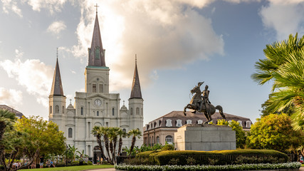 Jackson Square in New Orleans, Louisiana Fotomurales