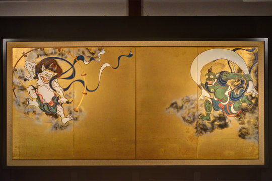 建仁寺の風神雷神図屏風