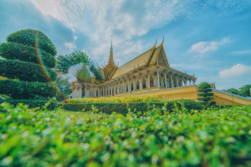 Cambodian palace in Phnom Penh