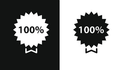 Quality control icon set balck and white vector design