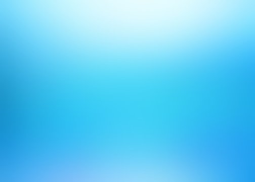 Blurred cold fresh air texture. Icy blue flare soft background. Clear glow abstract graphic. Shiny cool illustration.