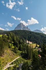 Castel Gardena, Fischburg, Santa Cristina Valgardena, Bolzano, Trentino Alto Adige, Italia