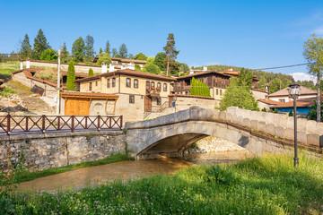 Bridge over the Topolinitsa river in the ancient village of Koprivshtitsa (Bulgaria)