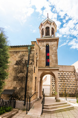 Armenian Church of the Holy Cross in the center of Burgas (Bulgaria)
