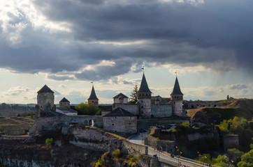 Foto op Canvas Ridders Kamenetz-Podolsky, Ukraine, Medieval fortress in Kamenetz-Podolsk Ukraine
