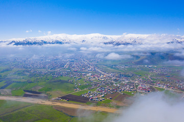 Amazing aerial view of Anatolian Turkey.
