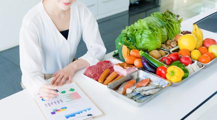 女性栄養士 Papier Peint
