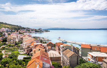 Podgora village on croatian coast