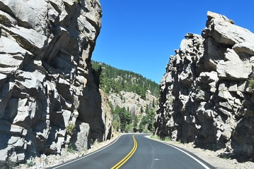 Highway through the Canyon