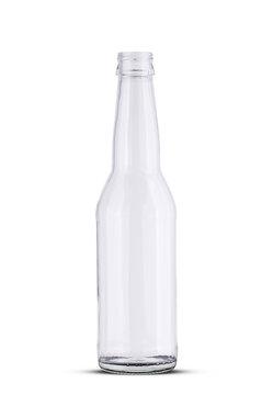 glass empty beer bottle