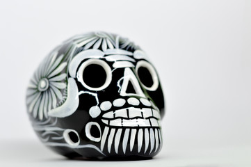 Day of the Dead, Mexico, Skull Crafts, Mexican Tradition, White background
