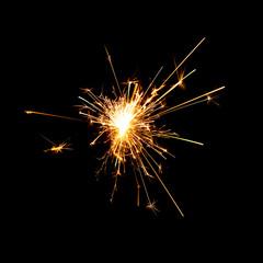 Mini Fireworks on Black backgrounds