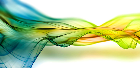Wall Mural - abstract smoky background