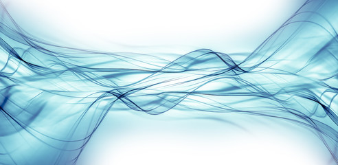 Wall Mural - abstract blue background