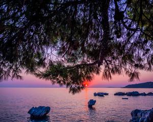 Foto op Plexiglas Asia land Beautiful landscape at the sea