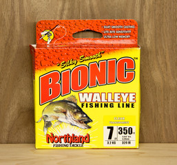 Box of Bionic Walleye Fishing Line