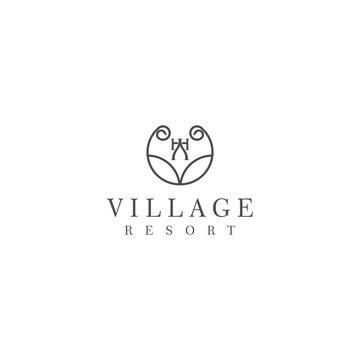 Luxury minimalis design for hotel and resort