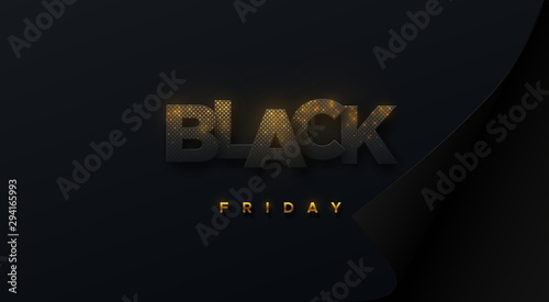 Black Friday Promotional Sale Event Vector Business