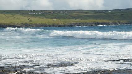 Sonnenstahlen bei schlechten Wetter auf Irland