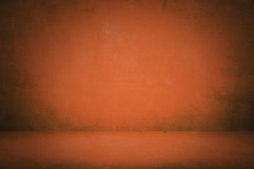 vintage orange studio and showroom to present product background