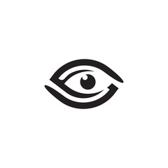 Eye logo care design vector template