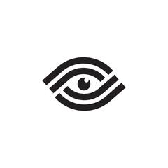 Eye logo care design vector template