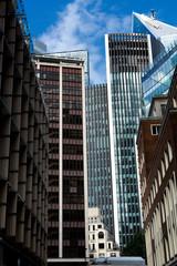 Skyscrapers  in 13 September 2019. London ( UK )