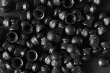Lead airgun pellets