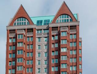 Flat building in Rotterdam, Netherlands