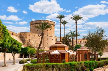 Ancient Citadel in Cairo Papier Peint