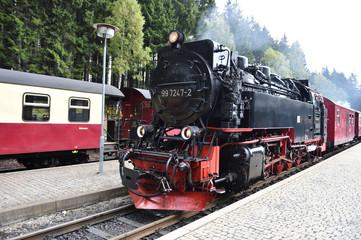 Harzer Schmalspurbahn in Schierke