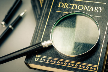 Search on Dictionary