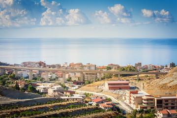 Bova Marina urban view in Calabria