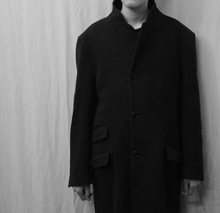 young jewish boy with coat