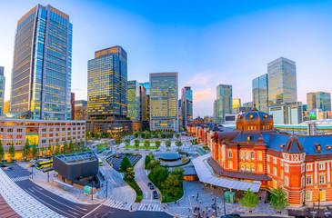 Photo sur Aluminium Tokyo 東京駅 東京都 日本