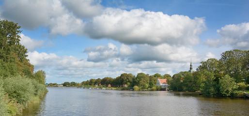 Friedrichstadt an der Treene in Nordfriesland,Schleswig-Holstein,Deutschland