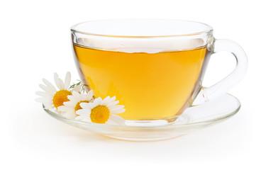 Hot chamomile tea
