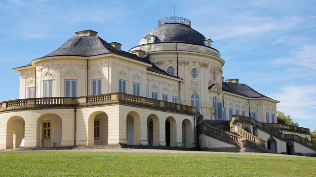 Castle Solitude by Stuttgart, west germany. One of the best places in Stuttgart.