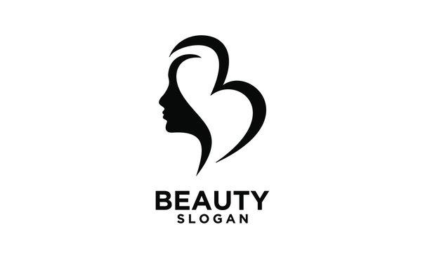 modern letter b for beauty logo icon design vector illustration template