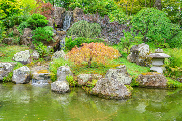 The iconic Japanese Tea Garden in Golden Gate park, San Francisco.