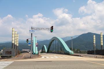 九頭竜川の橋