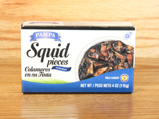 Box of Pampa Squid Pieces
